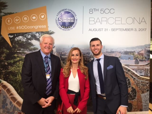 Success of dermalinfusion in the 8th Edition of the 5CC of Barcelona